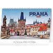 Stolní kalendář Praha 2018, 23,1 x 14,5 cm