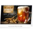 Stolní kalendář Putování za pivem 2019, 23,1 x 14,5 cm