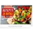 Stolní kalendář Recepty za kačku 2020, 23,1 × 14,5 cm