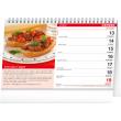 Stolní kalendář Recepty za kačku 2022, 23,1 × 14,5 cm