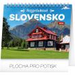Stolní kalendář Rozprávkové Slovensko SK 2018, 16,5 x 13 cm