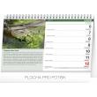 Stolní kalendář Rybářský kalendář 2017, 23,1 x 14,5 cm