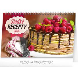 Desk calendar Cakes 2020, 23,1 × 14,5 cm