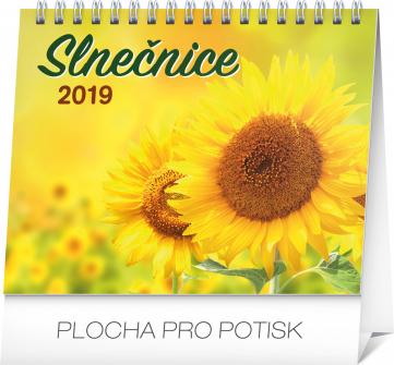 Stolní kalendář Slnečnice s citátmi SK 2019, 16,5 x 13 cm