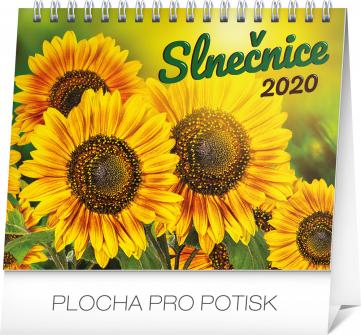 Stolní kalendář Slnečnice s citátmi SK 2020, 16,5 × 13 cm
