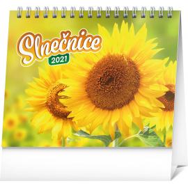 Stolní kalendář Slnečnice s citátmi SK 2021, 16,5 × 13 cm