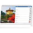 Desk calendar The World 2021, 23,1 × 14,5 cm