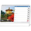 Desk calendar The World SK 2021, 23,1 × 14,5 cm