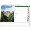 Stolní kalendář Tatry SK 2021, 23,1 × 14,5 cm