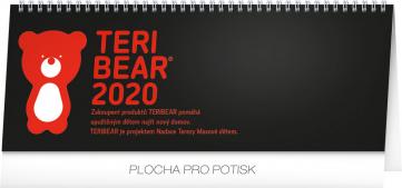 Stolní kalendář Teribear 2020, 33 × 12,5 cm