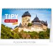 Stolní kalendář Tipy na výlety 2020, 23,1 × 14,5 cm