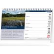 Stolní kalendář Tipy na výlety 2021, 23,1 × 14,5 cm