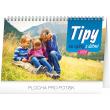Stolní kalendář Tipy na výlety s dětmi 2020, 23,1 × 14,5 cm
