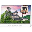 Stolní kalendář Tipy na výlety SK 2019, 23,1 x 14,5 cm