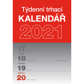 Tear-off weekly calendar 2021 A5