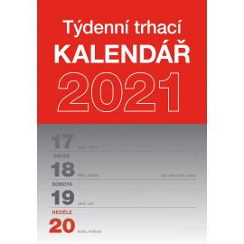 Stolní kalendář Trhací týdenní 2021 A5