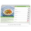 Stolní kalendář Vaříme a pečeme zdravě 2020, 23,1 × 14,5 cm