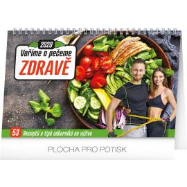 Desk calendar Healthy food 2020, 23,1 × 14,5 cm