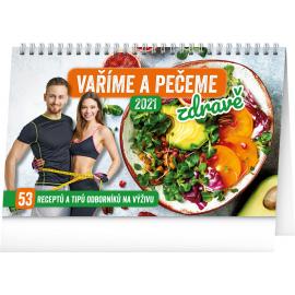 Desk calendar Healthy Food 2021, 23,1 × 14,5 cm
