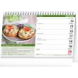 Stolní kalendář Vaříme snadno a rychle 2021, 23,1 × 14,5 cm