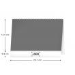 Stolní kalendář Vaříme snadno a rychle 2022, 23,1 × 14,5 cm