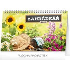 Stolní kalendář Zahrádkář 2018, 23,1 x 14,5 cm