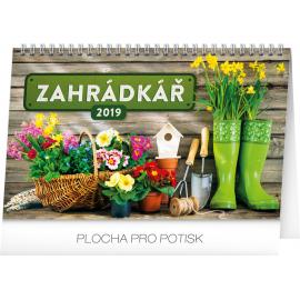 Desk calendar Gardening 2019, 23,1 x 14,5 cm