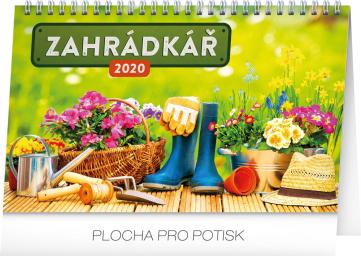 Stolní kalendář Zahrádkář 2020, 23,1 × 14,5 cm
