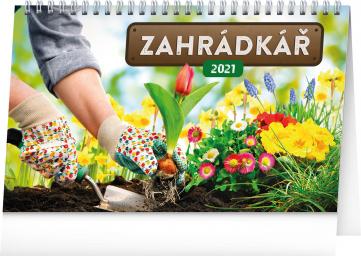 Stolní kalendář Zahrádkář 2021, 23,1 × 14,5 cm