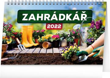Stolní kalendář Zahrádkář 2022, 23,1 × 14,5 cm