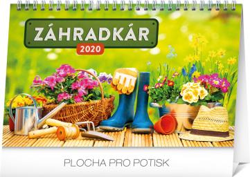 Stolní kalendář Záhradkár SK 2020, 23,1 × 14,5 cm
