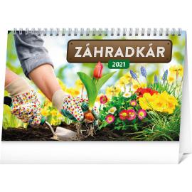 Stolní kalendář Záhradkár SK 2021, 23,1 × 14,5 cm