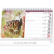 Stolní kalendář Život motýlů – motýlov CZ/SK 2020, 23,1 × 14,5 cm