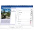 Stolní Meteorologický kalendář s Dagmar Honsovou 2020, 23,1 × 14,5 cm