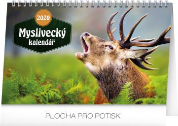 Desk calendar Hunting 2020, 23,1 × 14,5 cm