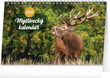 Stolní Myslivecký kalendář 2021, 23,1 × 14,5 cm