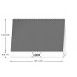 Desk calendar Hunting SK 2021, 23,1 × 14,5 cm