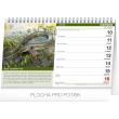 Stolní rybářský kalendář 2019, 23,1 x 14,5 cm