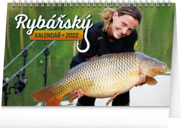Stolní Rybářský kalendář 2022, 23,1 × 14,5 cm