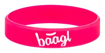 Svítící náramek Logo růžový