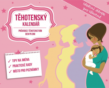 Pregnancy calendar, 13,5 x 11 cm