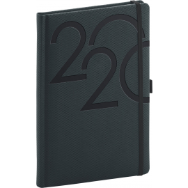 Weekly diary Ajax anthracite 2020, 15 × 21 cm