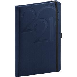 Weekly diary Ajax blue 2021, 15 × 21 cm