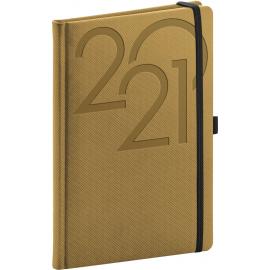 Weekly diary Ajax gold 2021, 15 × 21 cm
