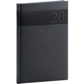Weekly diary Aprint black 2020, 15 × 21 cm