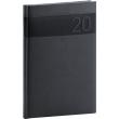 Týdenní diář Aprint 2020, černý, 15 × 21 cm