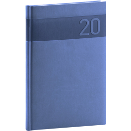 Weekly diary Aprint blue 2020, 15 × 21 cm