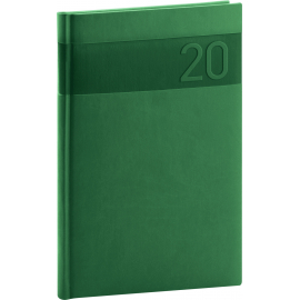 Weekly diary Aprint green 2020, 15 × 21 cm