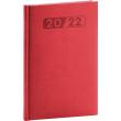 Týdenní diář Aprint 2022, červený, 15 × 21 cm