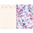 Weekly diary Tie–dye 2022, 11 × 16 cm